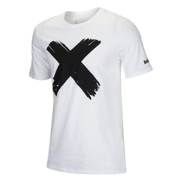"JORDAN RETRO 1 BANNED LOGO ""WHITE"" T-SHIRT"