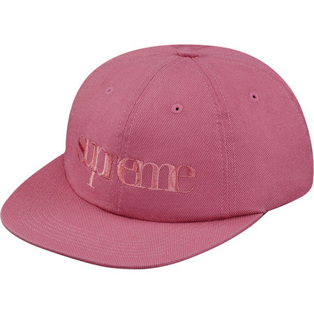 "SUPREME OVERLAP 6-PANEL ""DUSTY PINK"" SNAPBACK SS17H17"