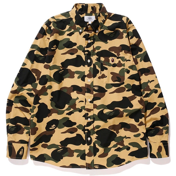 Bape 1st Camo Broad Button Up