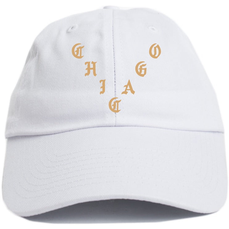 "KANYE WEST ""CHICAGO"" WHITE DAD HAT"