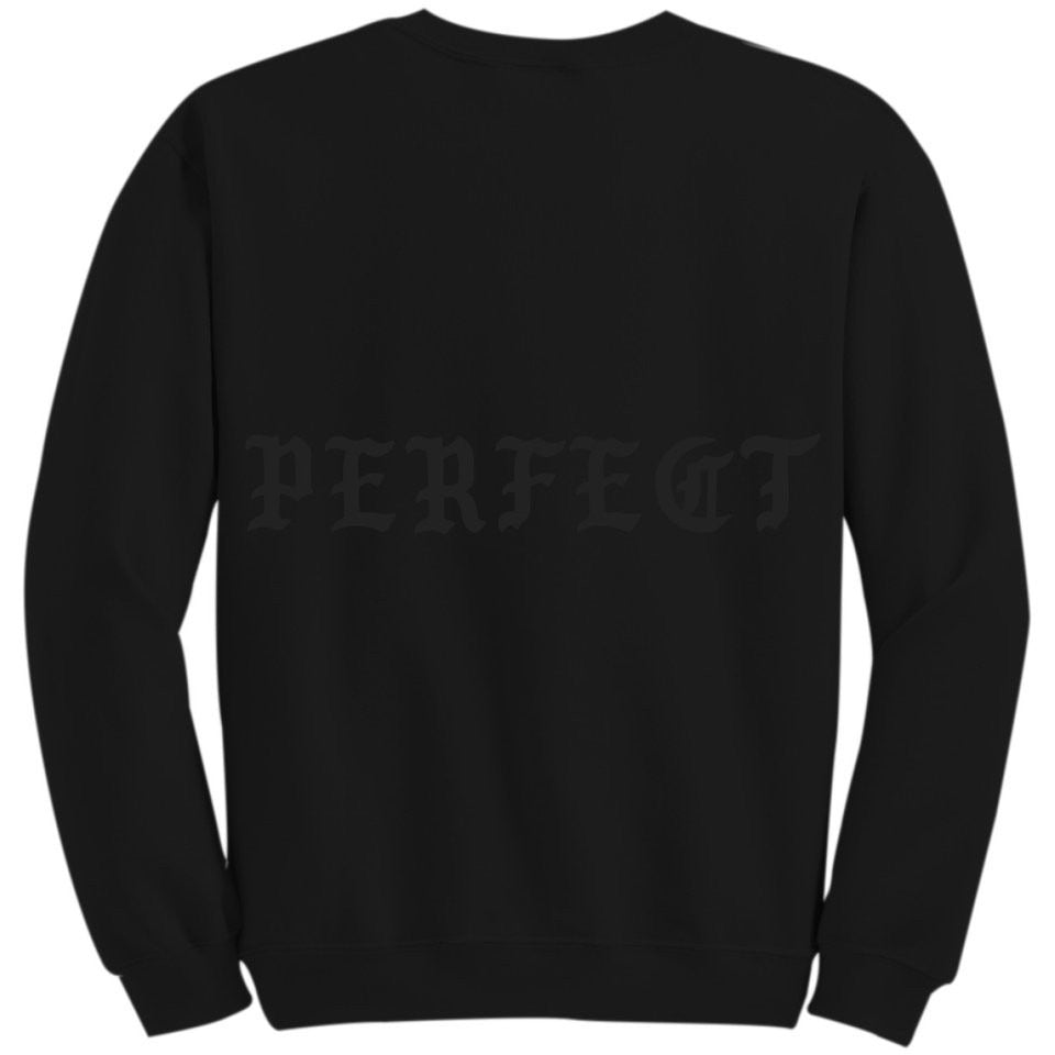 "KANYE WEST ""PERFECT"" BLACK CREWNECK"