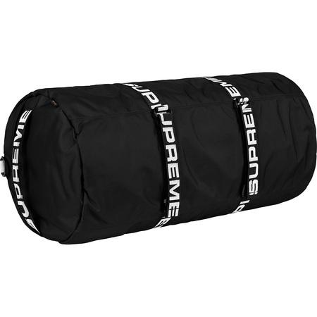 "Supreme Cordura Large Duffle Bag ""Black"" S/S 18"