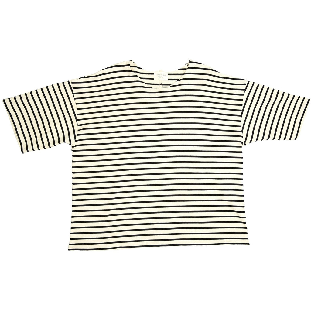 "FEAR OF GOD FOURTH COLLECTION ""CREAM"" STRIPED TEE"