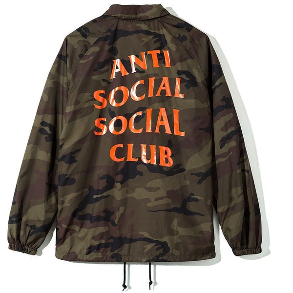 ANTISOCIAL SOCIAL CLUB CAMO COACH JACKET