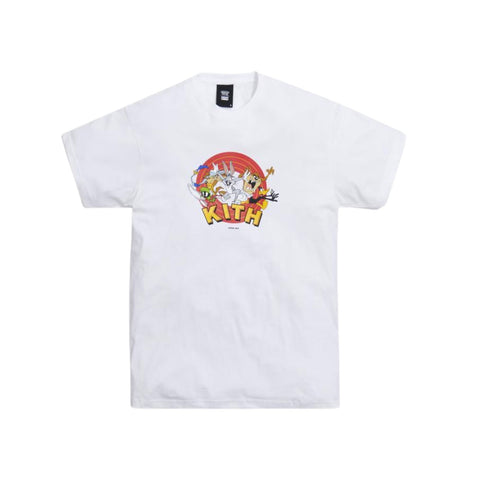 Kith x Looney Tunes That's All Folks Tee White
