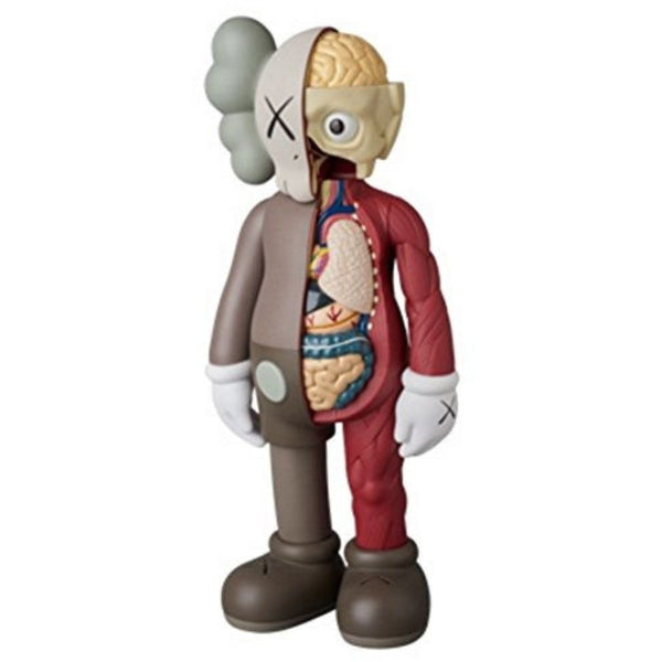 KAWS COMPANION FULL BODY 'DISSECTED BROWN'