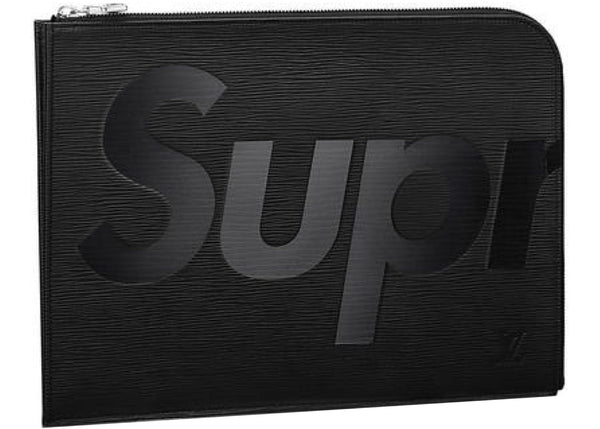 "Louis Vuitton x Supreme ""Black"" Laptop Sleeve"