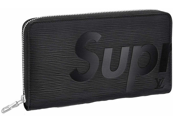 "Louis Vuitton x Supreme Zippy ""Black"" Organizer Epi"