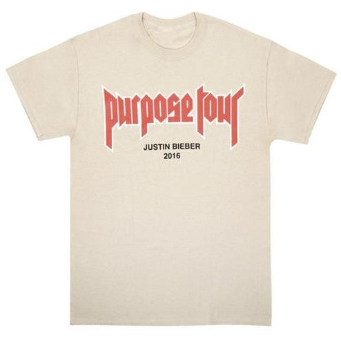 "JUSTIN BIEBER PURPOSE TOUR MERCH ""MY MAMA DONT LIKE YOU"" T SHIRT"