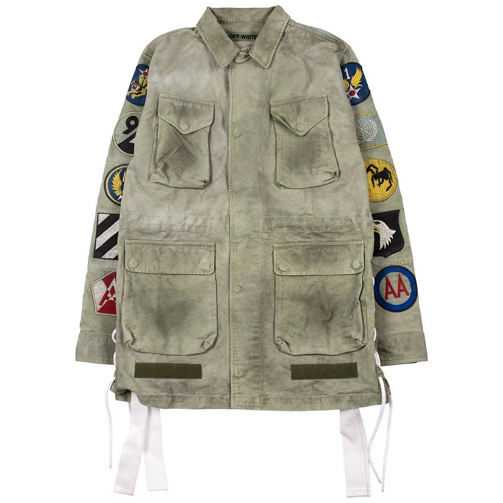 "OFF-White ""Military Field"" Patch Jacket"