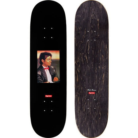 "SUPREME MICHAEL JACKSON ""BLACK"" SKATEBOARD"