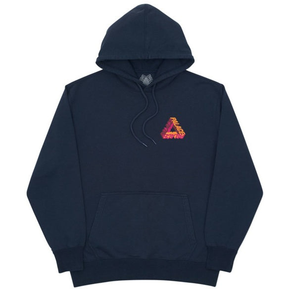 "Palace Skateboards P-3D Hooded ""NAVY BLUE"" Sweater"
