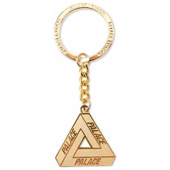 "Palace Skateboards ""GOLD"" LOGO KEYCHAIN"