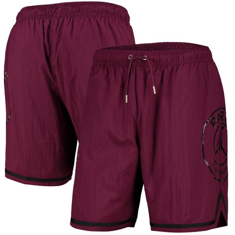 Paris Saint-Germain Jordan Basketball Shorts 2020-21 - Burgundy