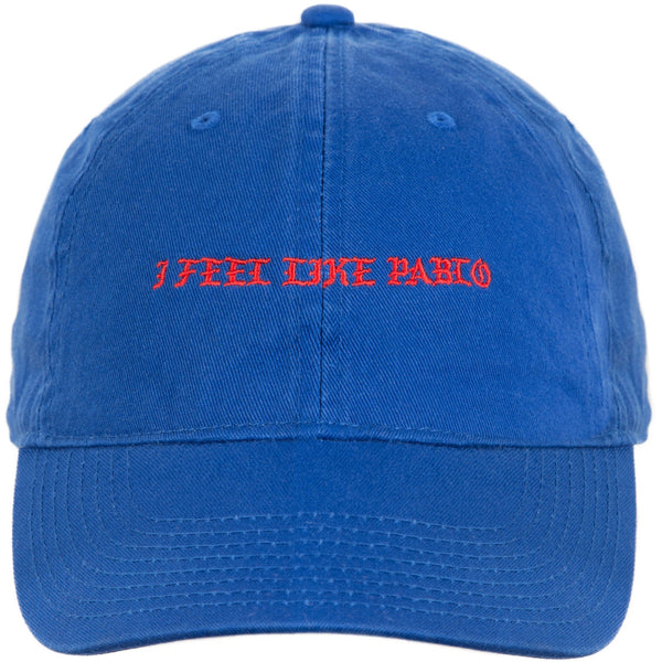 KANYE WEST I FEEL LIKE PABLO DAD HAT 'BLUE'