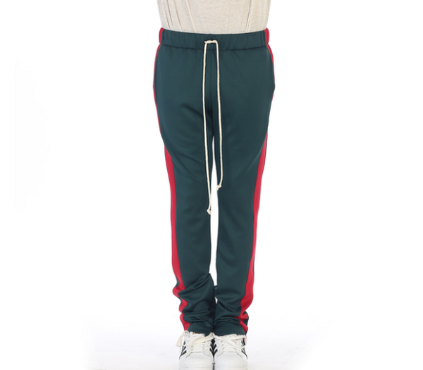 "EPTM TECHNO ""GREEN/RED"" TRACK PANTS"