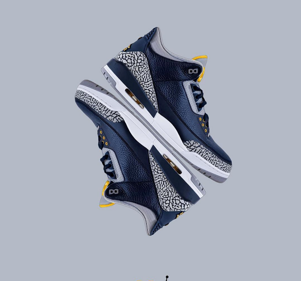 "AIR JORDAN 3 RETRO ""MICHIGAN PE"" (AJ3820064)"