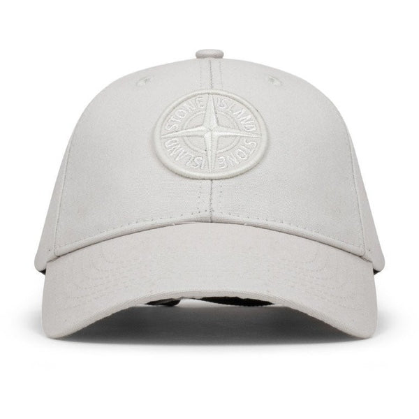 "STONE ISLAND ""ICE"" COTTON REPS CAP"
