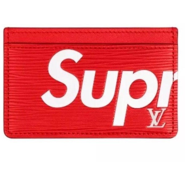 "Supreme x Louis Vuitton ""RED"" Cardholder"