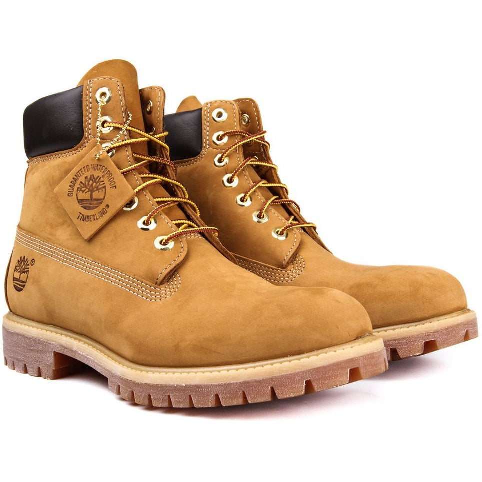 "TIMBERLAND 6"" PREMIUM WATERPROOF ""WHEAT"" BOOTS"