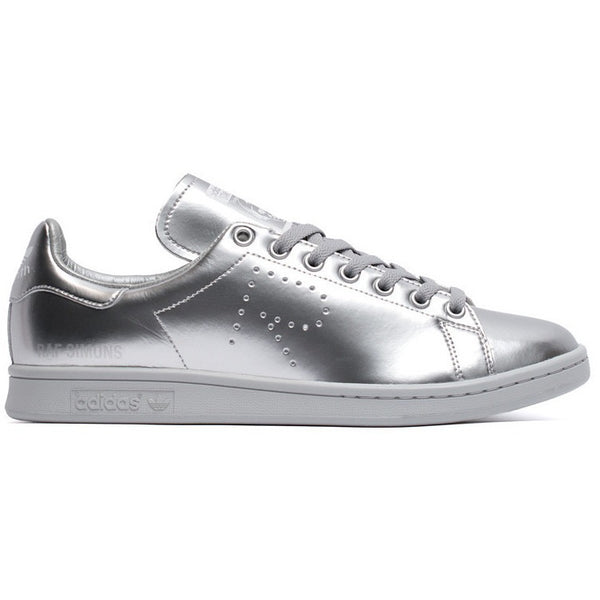 "ADIDAS X RAF SIMONS ""METALLIC SILVER"" STAN SMITH"