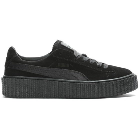"Puma x Rihanna Women ""Triple Black"" Suede Creepers"