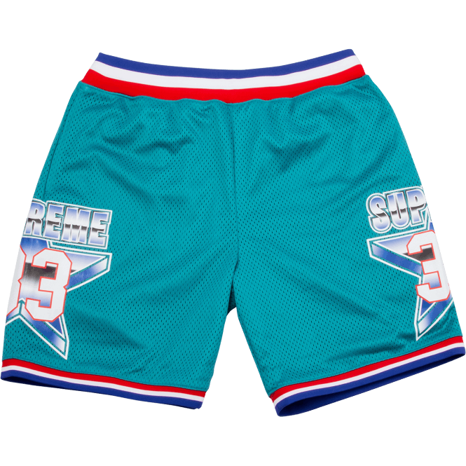 "Supreme All Star ""Teal"" Shorts"