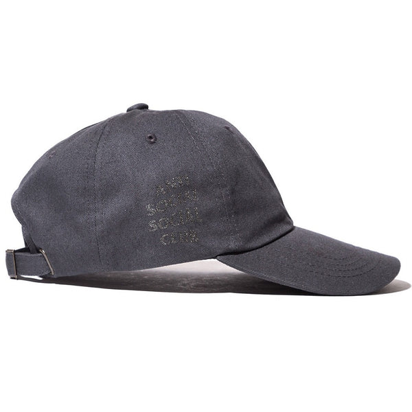 "Antisocial Social Club ""Grey Hat w/ Metallic Black"""