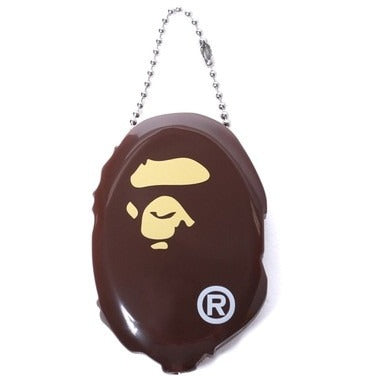 A Bathing Ape Head Coin Case