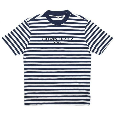 "GUESS x ASAP ""NAVY BLUE"" DAVID REACTIVE SHORT-SLEEVE TEE"