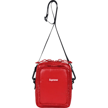 "2017 SUPREME CORDURA ""RED"" SHOULDER BAG"