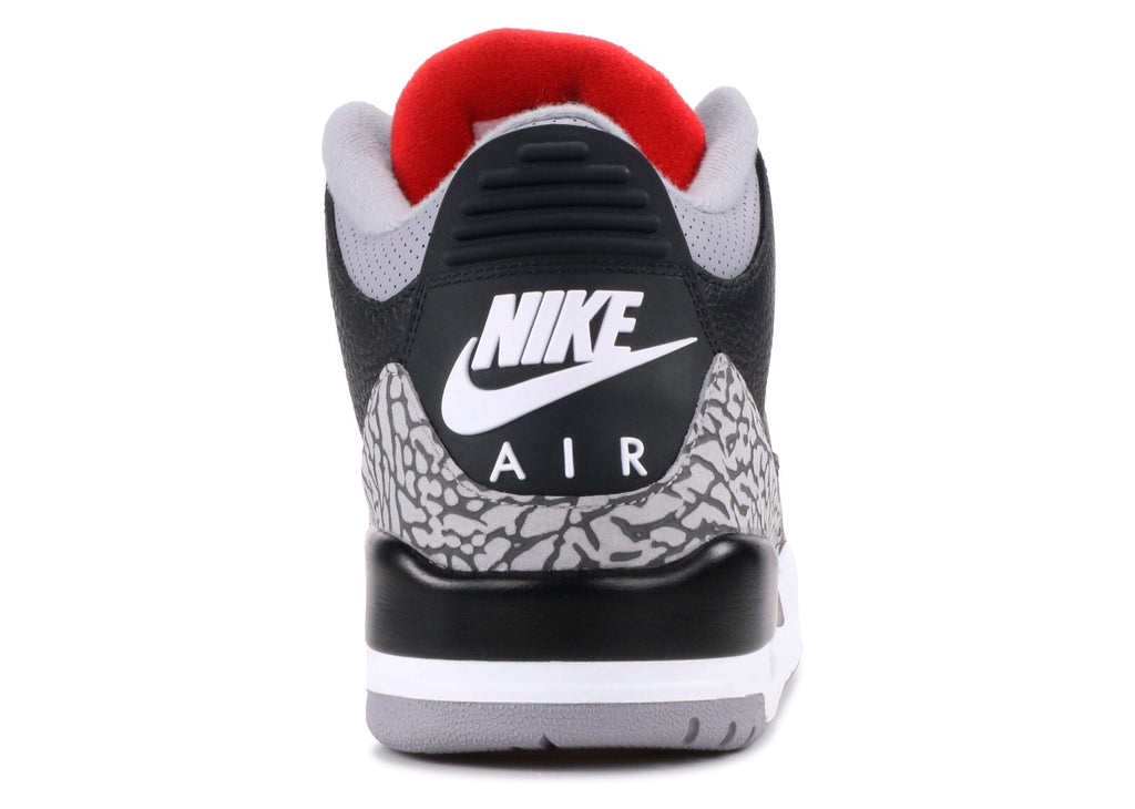 "2018 Nike Air Jordan III Retro ""Black Cement"" (854262-001)"