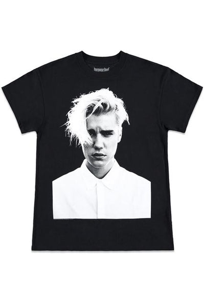 "JUSTIN BIEBER PURPOSE TOUR MERCH ""FACE"" T SHIRT"