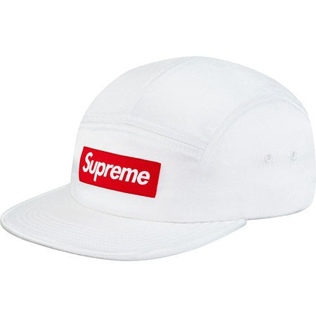 "Supreme Satin Camp ""White"" Cap"