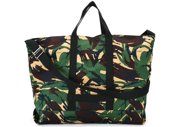 OFF-WHITE CAMOUFLAGE PRINT TOTE BAG