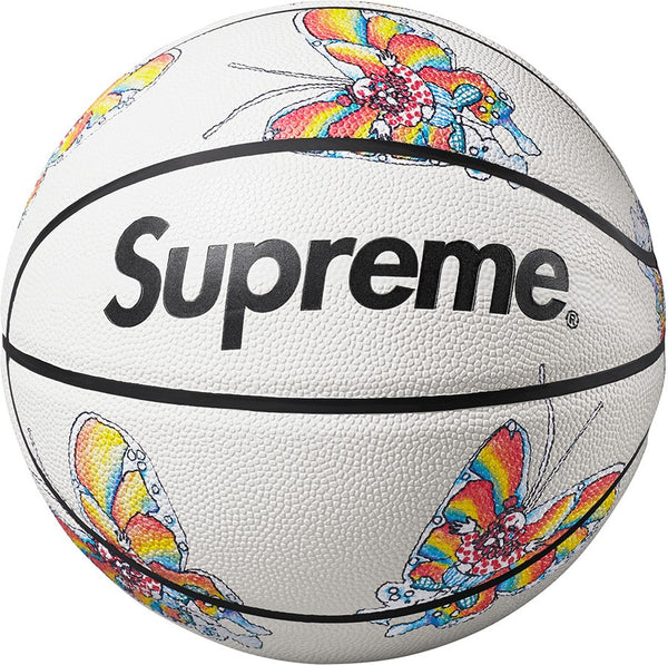 "SUPREME X SPALDING GONZ BUTTERFLY ""WHITE"" BASKETBALL"