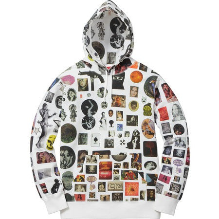 "Supreme Thrills Hooded ""White"" Sweatshirt"