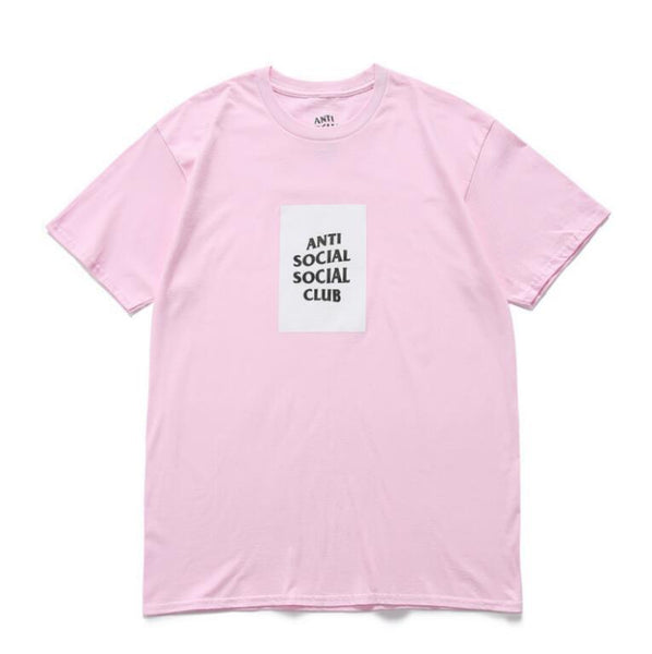 "ANTISOCIAL SOCIAL CLUB ""PINK WHITE"" T-SHIRT"