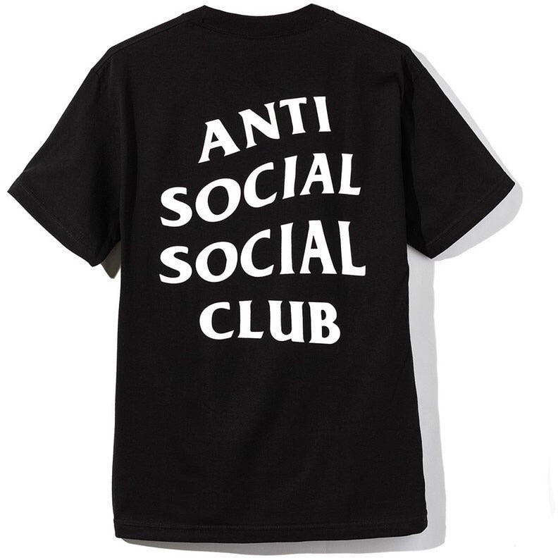 "ANTISOCIAL SOCIAL CLUB LOGO TEE ""BLACK"""