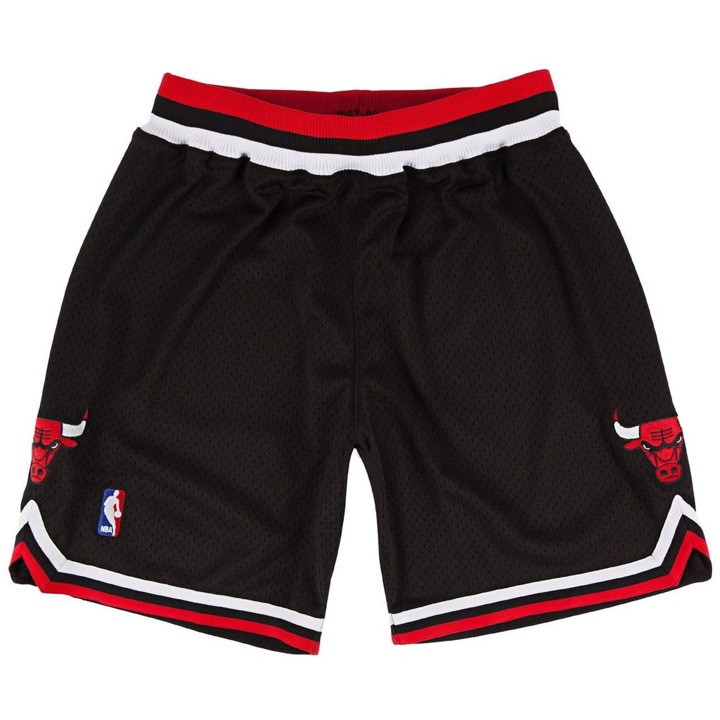 Chicago Bulls Mitchell & Ness Authentic Black 1997-98 Shorts