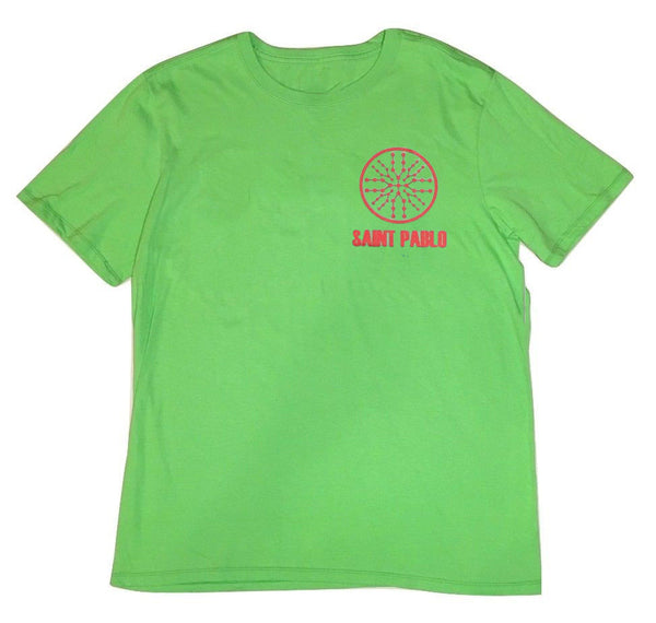 "KANYE WEST SAINT PABLO ""GREEN"" T-SHIRT"