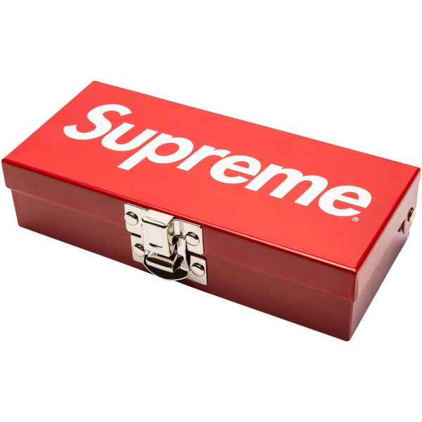 Supreme Small Metal Lock Box