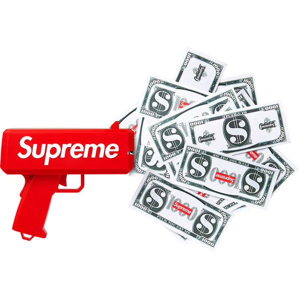 "Supreme Cash Cannon Money ""Red"" Toy Gun"