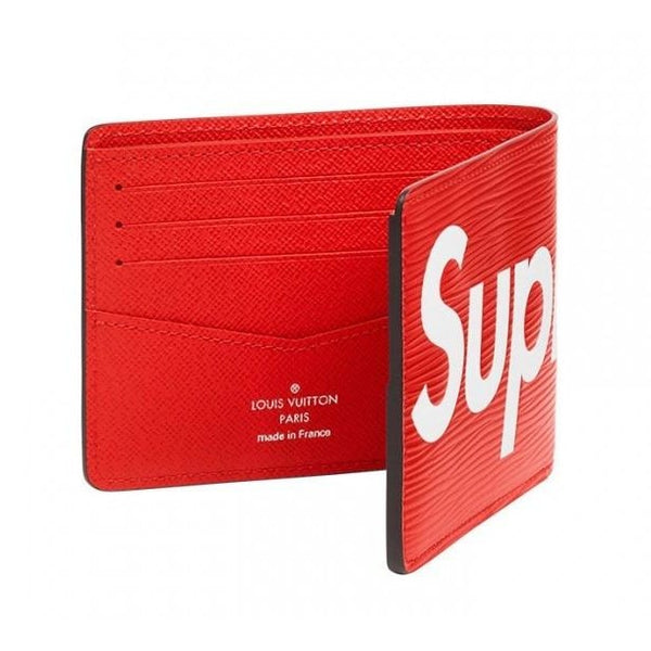"SUPREME X LOUIS VUITTON ""RED"" BIFOLD WALLET"