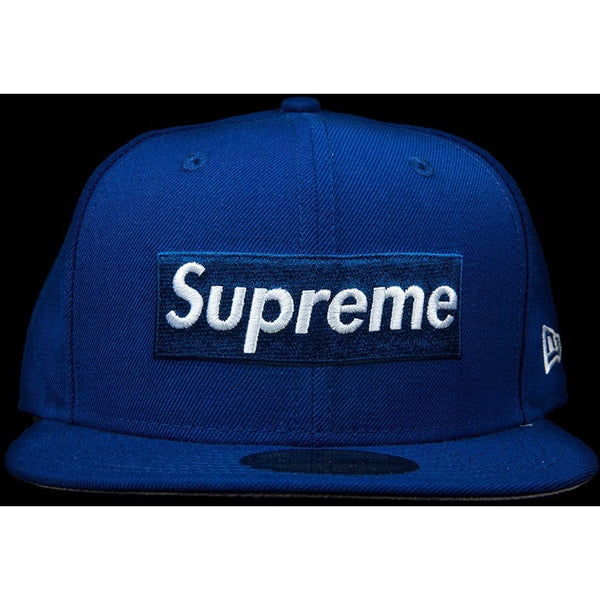 "SUPREME R.I.P. NEW ERA FITTED CAP ""BLUE"""