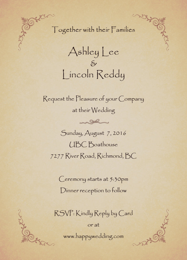 Wedding Blog #3: How do I Write my Wedding Invitation? – Ohnik Studio