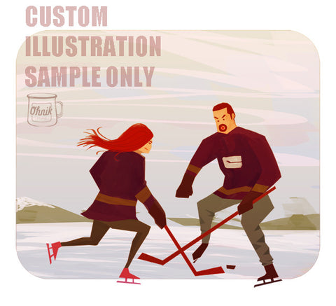 8. Custom Cartoon Portraits