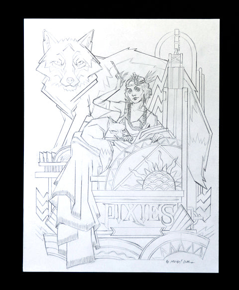 Pomona Fox Pencils
