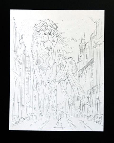 Chicago Lion Pencils