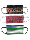 Face Masks with Pockets • Elastic Loops - Set of 3